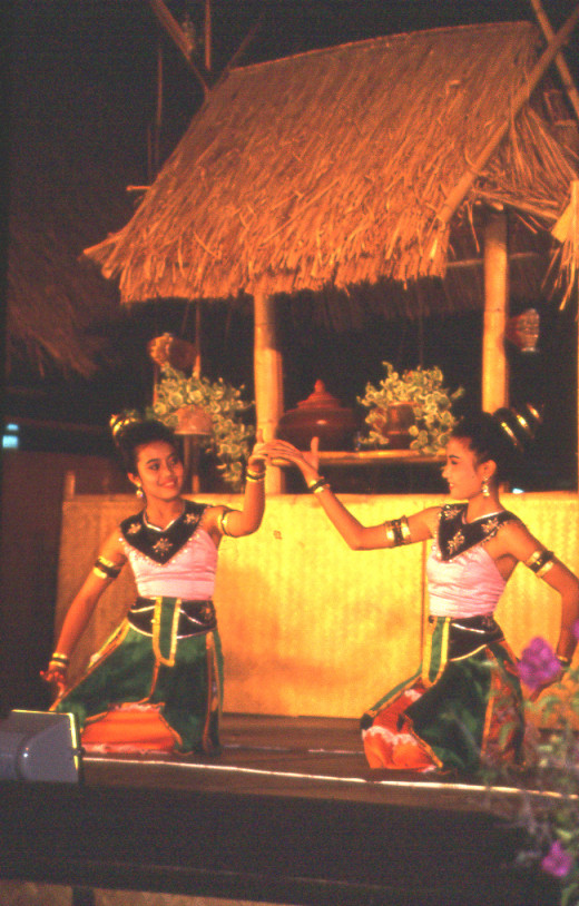 Northern Thai (Lanna) traditional dance