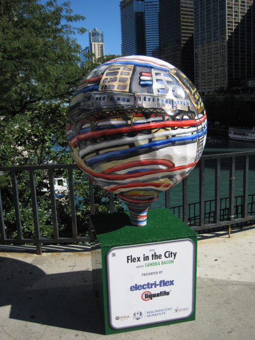 """Flex in the City"" by Sandra Bacon"