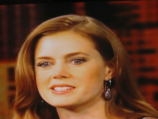 Amy Adams also appeared as a guest during our visit to The View.