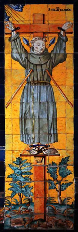 Inside the Convento de San Francisco