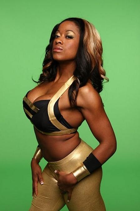 Sojourner Bolt aka Josette Bynum, former TNA Knockout