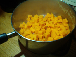 Adding sweet potato is a fun twist on traditional pot pies.