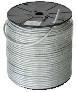 """Heavy 3/16"""" plastic coated cable"""