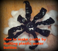 How To Make Crafts From Melting Plastic Water Bottles