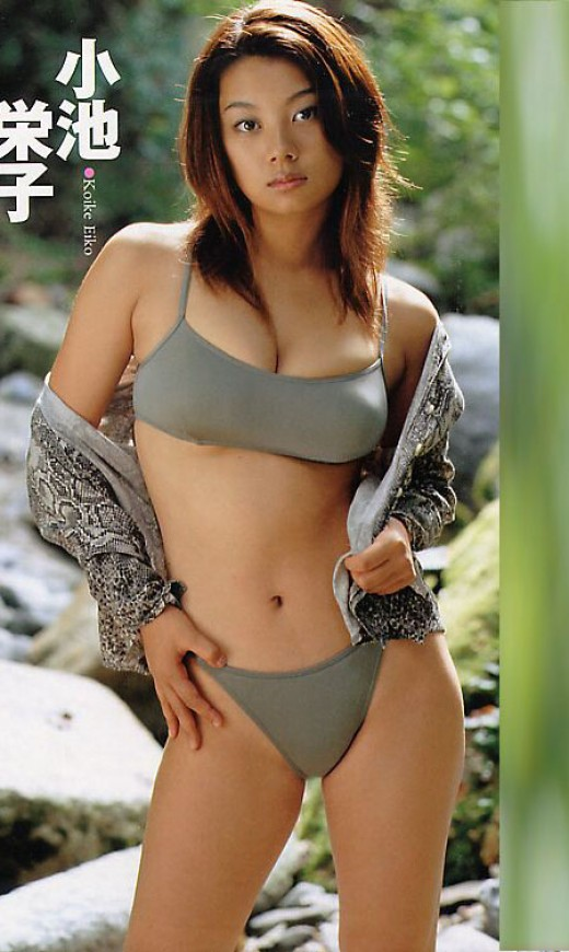 Beautiful Japanese Actresses - Eiko Koike