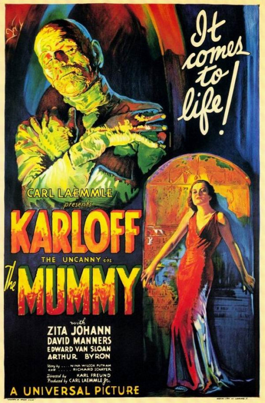 The Mummy (1932) poster