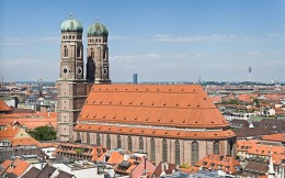 Frauenkirche in Downtown Munich