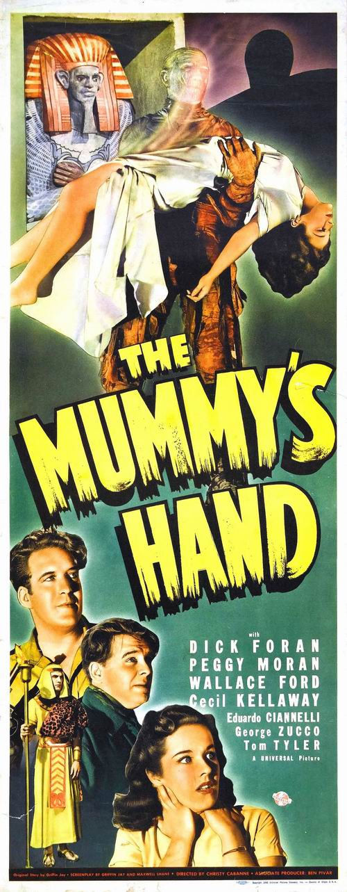 The Mummy's Hand (1940) poster