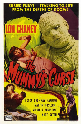 The Mummy's Curse (1944) poster