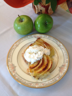 A Delightful Granny Smith Apple Pizza Dessert