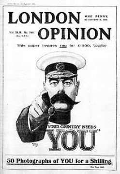 "Lord Kitchener ""Your Country Needs You"" WW1 Poster"
