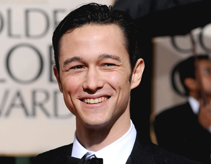 A picture of Joseph Gordon-Levitt at the Golden Globe Awards