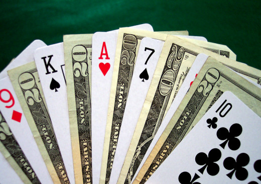 Stay away from poker games if you have an addiction and play for money...