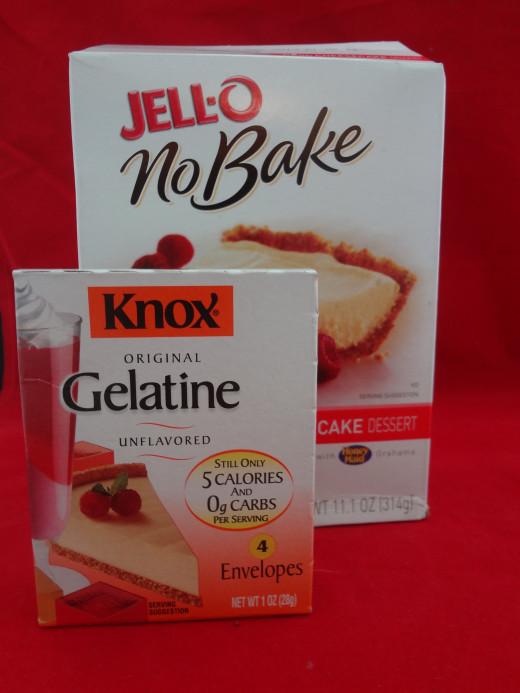 Gelatins, No Bake Cheesecake