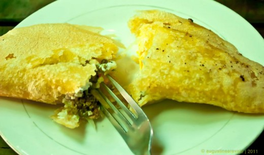 A must try treat - Vigan empanada
