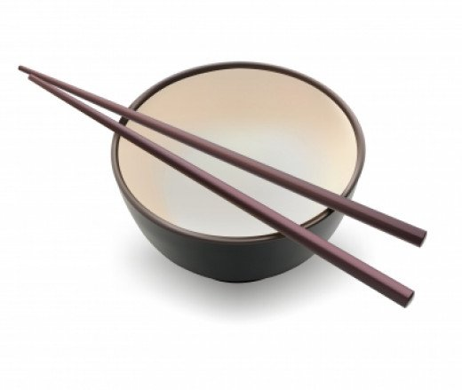 An Asian dinner set including a set of chosticks can add a sense of fun and sophistication to any occasion.