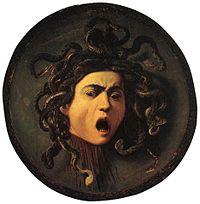 Medusa, by Caravaggio (1595)