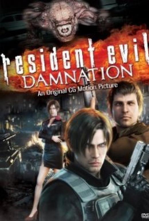 Promo poster for Resident Evil: Damnation