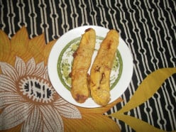Making Ripened Plantain Banana Fry at Home
