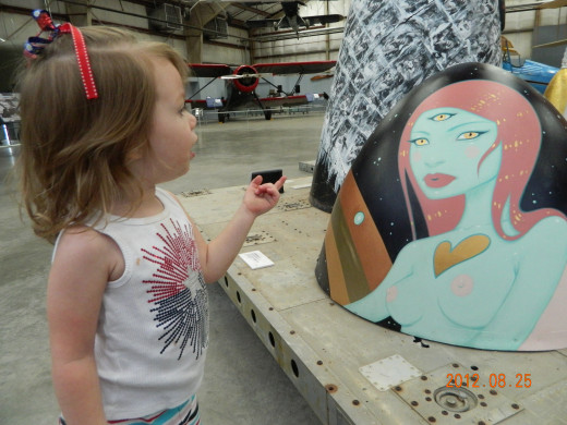 Return Trip: Art from the Boneyard Project and Nose Art at the Pima Air & Space Museum Tucson, AZ