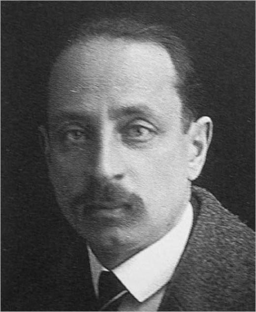 Rainer Maria Rilke, passport photo 1919