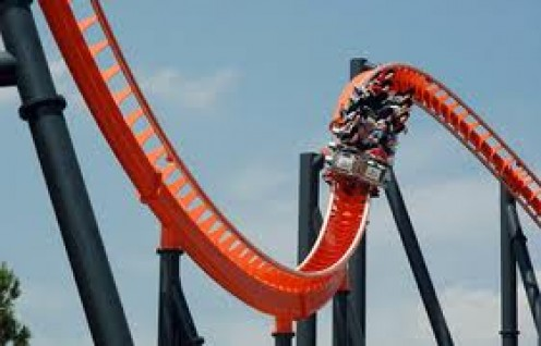 Rip Ride Rockit is at Universal Studios in Orlando. It is Universals second roller coaster.