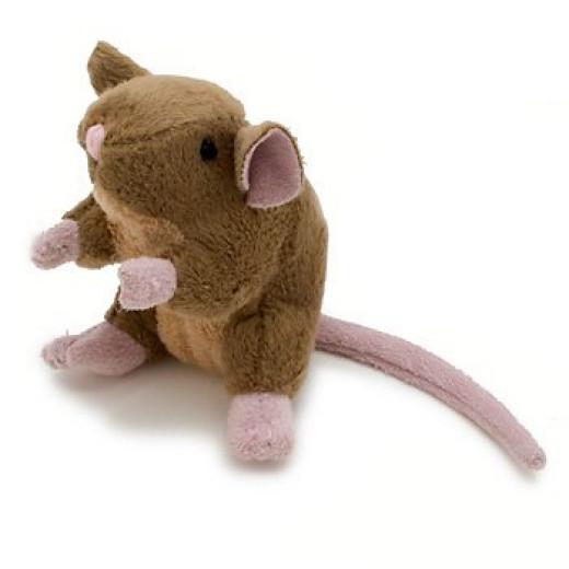 catnip plush house mouse