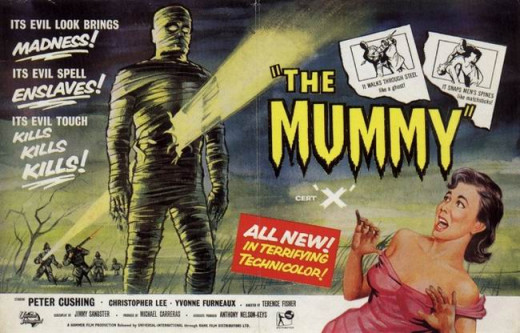 The Mummy (1959) poster