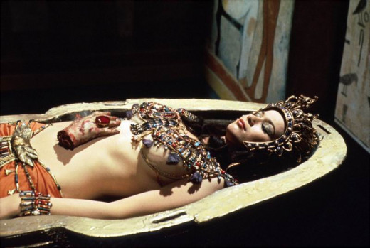 Valerie Leon in Blood from the Mummy's Tomb (1971)