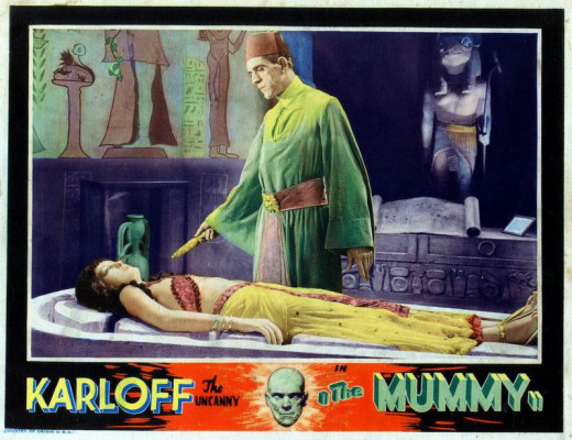 The Mummy (1932) Lobby Card
