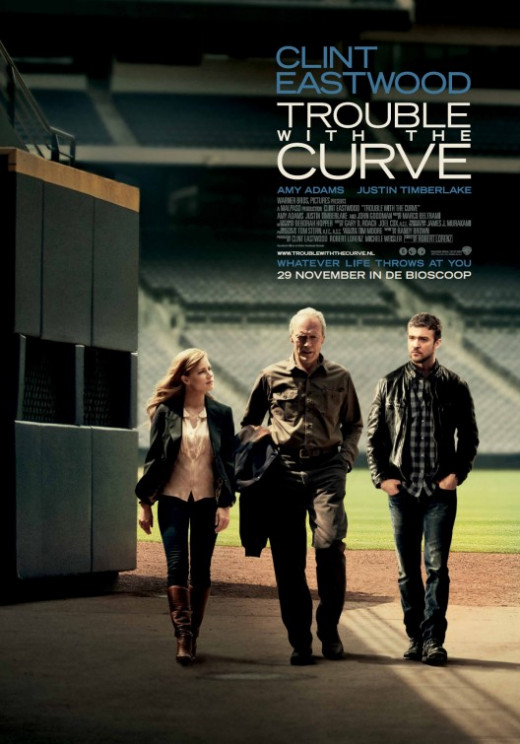 Trouble With the Curve Poster #3
