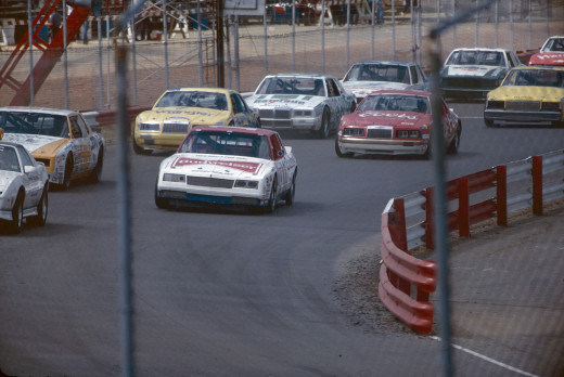 In 1985 RIR was still a 1/2 mile track.  It is now 3/4 mile.