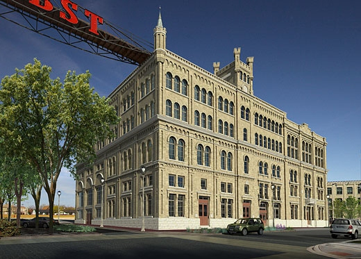 The old Pabst Brew House In Milwaukee, soon to be a boutique hotel!