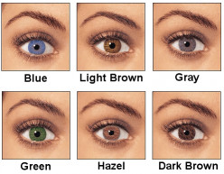 Best Hair Color for Blue, Light Brown, Green, and Hazel Eyes