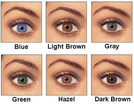 Hair color should be linked with the color of your eyes.