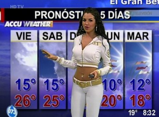 How to Predict the Weather... Girl