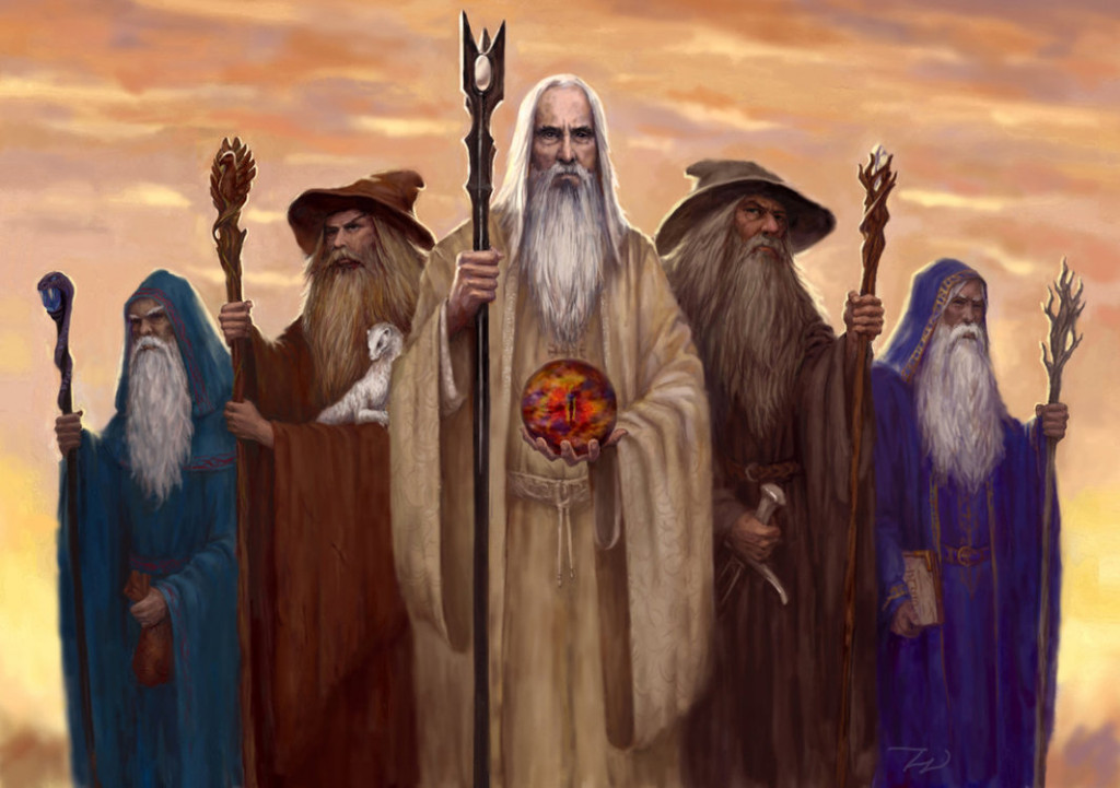 Colors Of Wizards In Lord Of The Rings