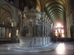 Inside Basilica St Remi