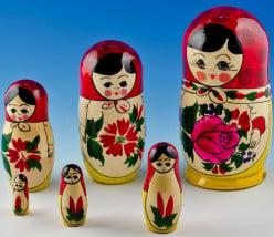 For the Love of Russian Matryoshka Nesting Dolls