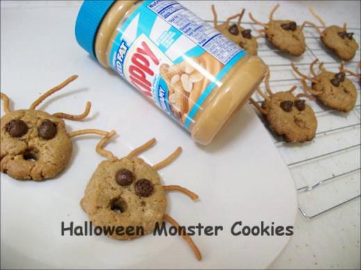 Fun Things To Bake With Kids Halloween Monster Cookies