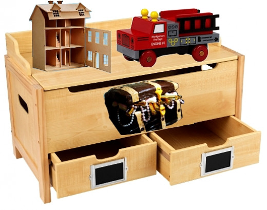 Toy Storage For Boys : Extra large toy boxes for boys and girls