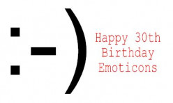 Happy Birthday Smiley Face: 30 Years of Emoticons