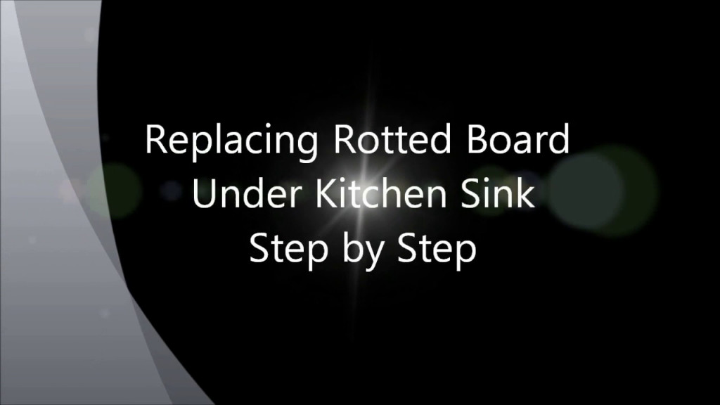 Under Kitchen Sink Rotted