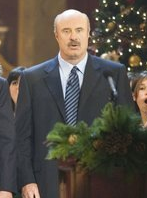 "This is Dr. Phil. He has accepted the ""Wand of positivity"" from Oprah. He is not your friend."