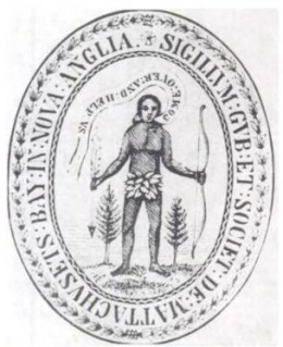 Massachusetts Bay Colony Seal, 1629