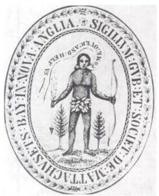 Massachusetts Bay Colony Seal, 1629