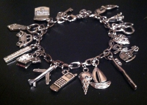 50 Shades of Grey inspired Bracelet