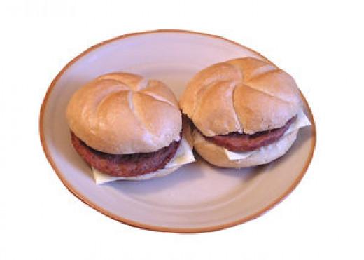 Enjoy your burger with a toasted bun.