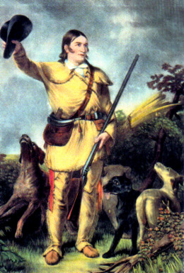 PORTRAIT OF DAVY CROCKETT
