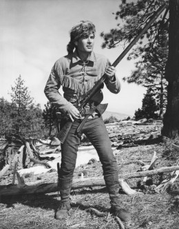 DAVY CROCKETT KING OF THE WILD FRONTIER (AS PLAYED BY FESS PARKER)
